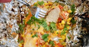 texmex chicken foil packet