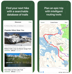 The Best GPS Apps For Hiking - Pros And Cons - 50 Campfires