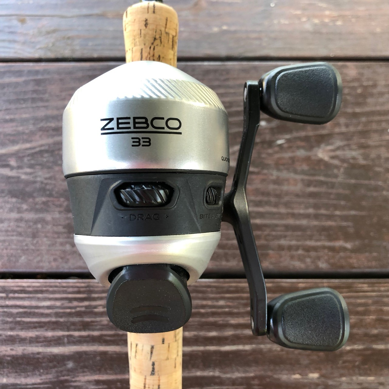 new zebco 33 reel