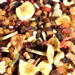 dried fruit hiking snacks