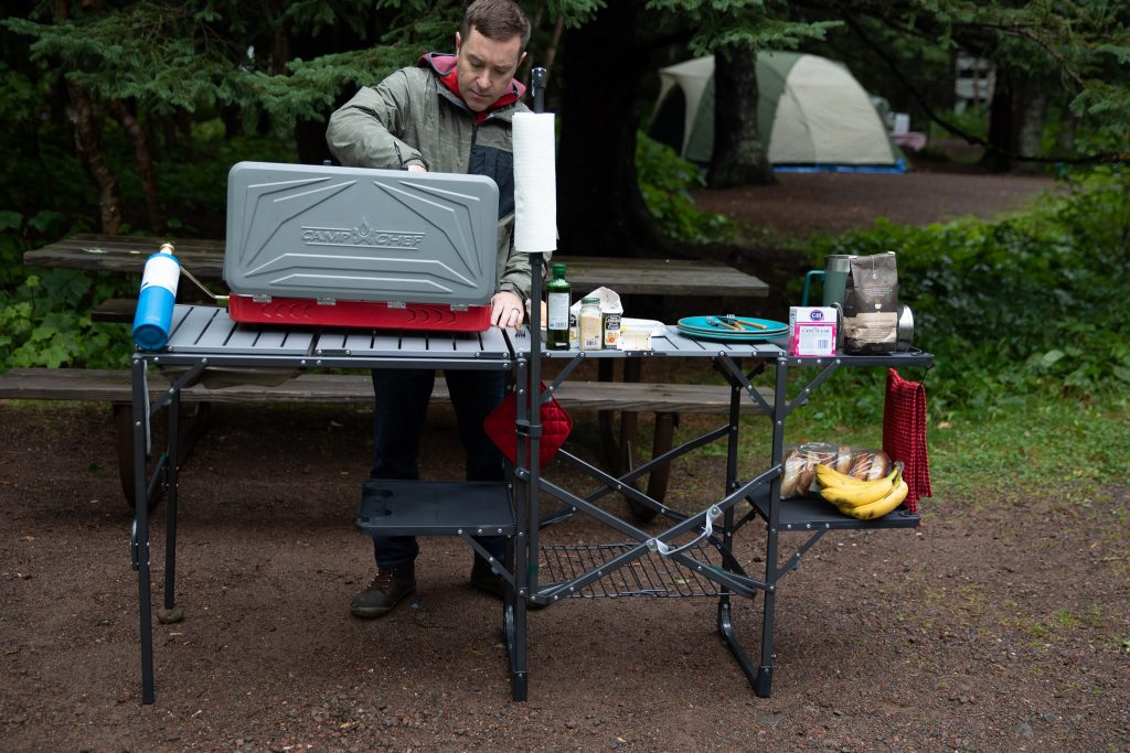 gci outdoor master cook station camping table