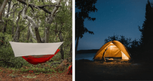 tents vs hammocks for camping
