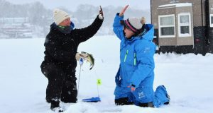 essential ice fishing gear