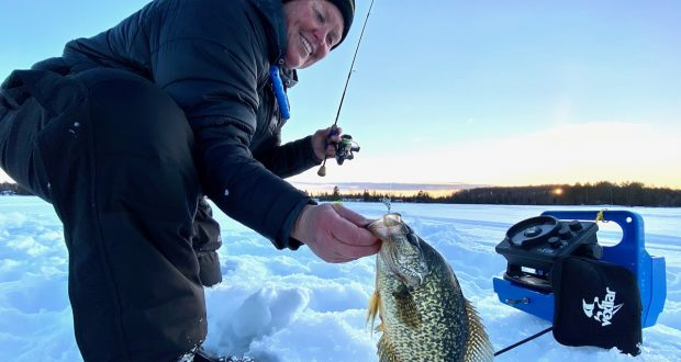getting started with ice fishing