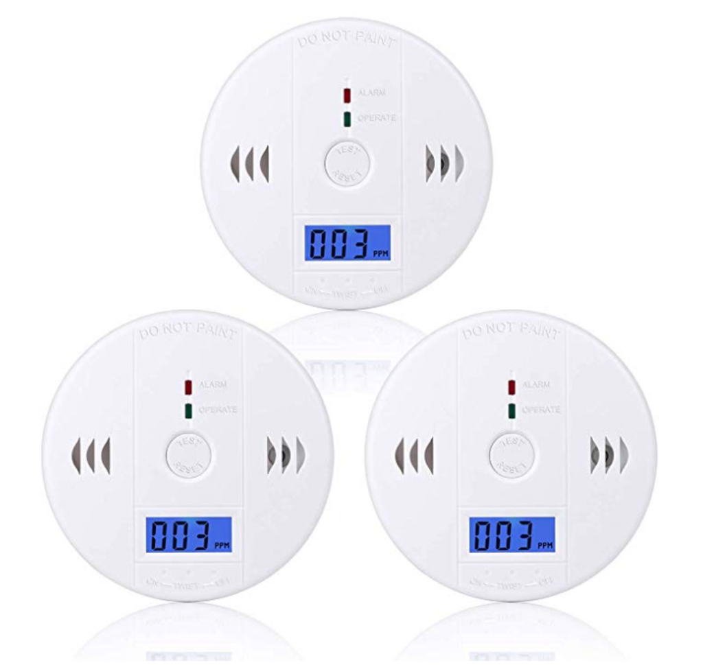 Carbon Monoxide Detectors from SiDell-US