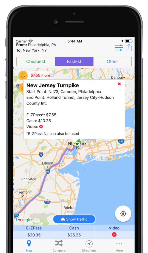 trip and toll calculator best road trip apps